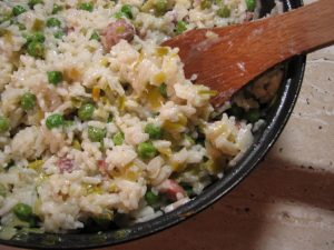 orez cu mazare